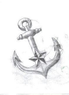 Anchor tattoo sketch by JonnyANDfrankie on DeviantArt S Tattoo, Tattoo Pied, Piercing Tattoo, Piercings, Tattoo Quotes, Tattoo Thigh, Tattoo Flash, Anchor Tattoos, Star Tattoos