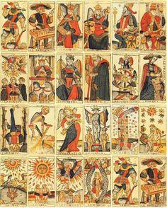 Tarot de Marseille, Jean Dodal (France, 1701)