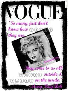 Another piece of Mary Kay Wisdom. Recognize how GREAT you are and VOGUE in the process.  https://www.facebook.com/KelliJenkinsIBC?ref=hl