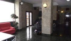 Lobby of Las Palmeras 9th floor studio apartment