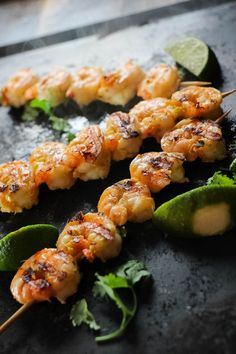 An easy and versatile marinade that comes together in minutes and packs a huge punch of umami flavor! Use it as a marinade on shrimp, fish or even as a dipping oil for lobster and shrimp. Grilling Recipes, Seafood Recipes, Appetizer Recipes, Cooking Recipes, Healthy Recipes, Healthy Meals, Easy Recipes, Healthy Food, Appetizers