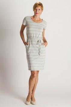 Organic Cotton Fair Trade Pocket Dress | PACT | Available at beadandreel.com