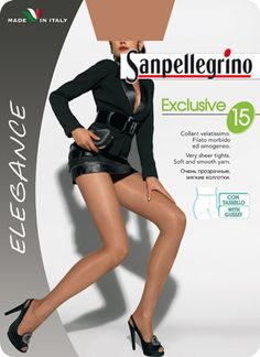 COLLANT EXCLUSIVE 15 | Elegance | Calze Classiche | Sanpellegrino | Csp International Fashion Group s.p.a.