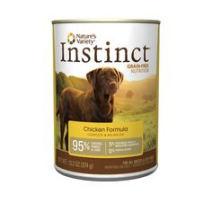 Nature's Variety Instinct Grain-Free Canned Dog Food ** Special dog product just for you. See it now! : Best dog food
