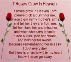 Happy Birthday to My Mom In Heaven Quotes . the 20 Best Ideas for Happy Birthday to My Mom In Heaven Quotes . Happy Birthday Quotes for My Mom In Heaven Image Quotes at Mom In Heaven Quotes, Mother's Day In Heaven, Mother In Heaven, Heaven Poems, Mother Poems, Mom Poems, Mothers Day Poems, Mother Quotes, Mother Passed Away Quotes