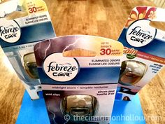 Better Smelling Road Trips With Febreze Car Vent Clips. $25 Walmart Gift Card Giveaway! #FebrezeCar @SheSpeaksUp