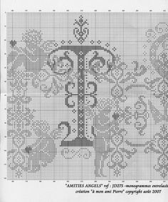 Gallery.ru / Фото #33 - a - uni4ka Stitch And Angel, Cross Stitch Angels, Cross Stitching, Cross Stitch Embroidery, Angel Silhouette, Crochet Letters, Crochet Angels, Victorian Lace, Cross Stitch Alphabet