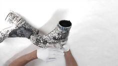 FootPrint - Customized 'Tabi' boot, Maison Martin Margiela S/S1990