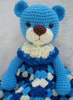 Teddy Bear Crochet Blanket   Teddy Bear Huggy Blanket Crochet Pattern, PDF Format Teri Crews ...