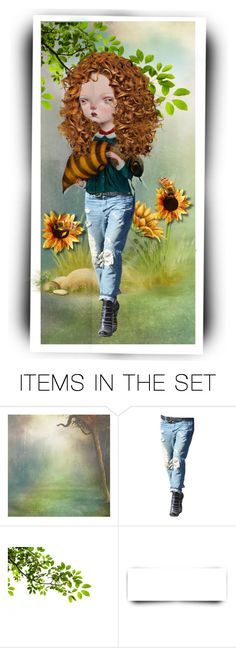 """""""i'm bringing home my baby bumble bee"""" by riri-thatsme ❤ liked on Polyvore featuring art"""