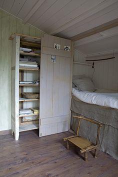 Slaapkamer in zachte aquareltinten - Seasons