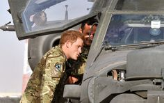 Prince Harry - Prince Harry Is Redployed To Afghanistan