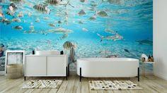 Omyvatelná Fototapeta Bora Bora pod vodou ✓ Snadná instalace ✓ 365 denní záruka vrácení peněz ✓ Procházejte ostatní vzory z této kolekce!