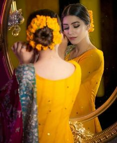 What's your favorite color on mehndi function Mehndi Outfit, Bridal Poses, Bridal Photoshoot, Pakistani Wedding Outfits, Bridal Outfits, Pakistani Suits, Wedding Attire, Wedding Bride, Bridal Mehndi Dresses