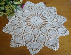 3 Doilies Doily Crocheted Doily Ecru Vintage Doilies  D26 by TreasureCoveAlly on Etsy