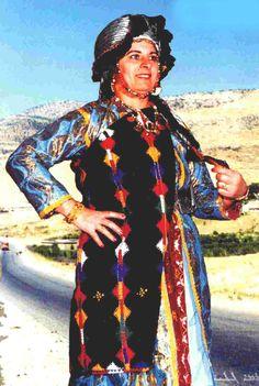 Traditional festive costume of Batnaya, nothern Iraq. Chaldean (Assyrian), 2nd half 20th century.