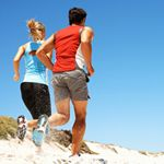 Beach running tips and sand workouts-- to keep fit while on a Beach Vacation