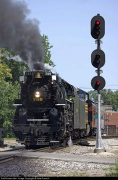 RailPictures.Net Photo: RPCX 765 Nickel Plate Road Steam 2-8-4 at Muncie, Indiana by Pete Ruesch