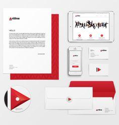 Artline, audiovisual studio by Manuel Persa, via Behance