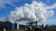 Geothermal plant-Iceland taps the ultimate renewable energy source: Earth's . - Renewable Energy in Iceland - Geothermal Energy Green Life, Go Green, Geothermal Energy, Renewable Sources Of Energy, Energy Resources, Water Systems, Natural Phenomena, Solar Energy, Terra