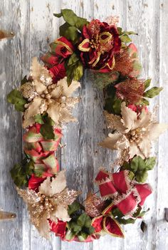 ZeeWow - Lg Oval Holiday Wreath