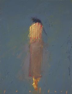 daughter's leaving #3 ~ oil/alkyd on canvas ~ by chris gwaltney. This image conjures up all kinds of feelings...