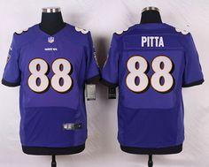 NFL Baltimore Ravens #88 pitta Purple Elite Jersey