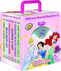 Disney Princess Kindness Counts 6- books Travel « Library User Group