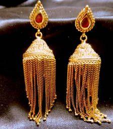 Buy mastani jhumar gold plated traditional danglers jhumka online