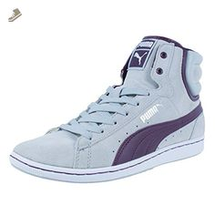 PUMA WOMENS FIRST ROUND SUPER ECO FASHION SNEAKERS GRAY VIOLET 352636 15 SZ 8.5 - Puma sneakers for women (*Amazon Partner-Link)