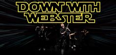 Down With Webster banner