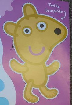 Peppa pig teddy bear