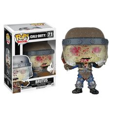 """This is a Call Of Duty POP Brutus Vinyl Figure that is produced by Funko. He's stellar. Recommended Age: 17+ Condition: Brand New and Sealed Dimensions: 3.75"""" X 1 Call Of Duty POP Brutus Vinyl Figure"""