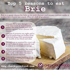 The health benefits of brie - This type of cheese can support health and weight loss. Simple cheese guide to Brie cheese Cheese Benefits, Homemade Cookbook, My Recipes, Favorite Recipes, Types Of Cheese, Food Categories, Food Facts, Food Diary, Food Menu
