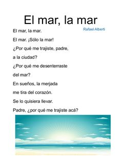 Poemas para niños de primaria Spanish Class, Poems, Education, Amanda, Heart, Vestidos, Poems For Children, Kindergarten Songs, Poems Beautiful