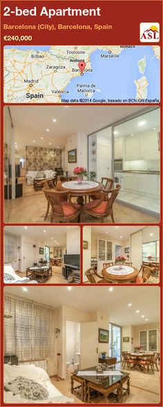 2-bed Apartment in Barcelona (City), Barcelona, Spain ►€240,000 #PropertyForSaleInSpain
