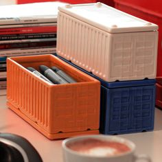 Same Use/ Different Scale - Ceramic Desktop Cargo Containers