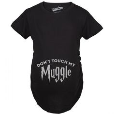 A funny fantasy pregnancy tee for expecting moms that love magic. A great baby bump t-shirt for pregnant mothers who love movies.