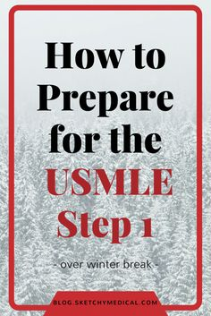 how to prepare for the usmle step 1