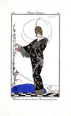 1914 - Costumes Parisiens by clotho98, via Flickr  Journal des dames et des modes
