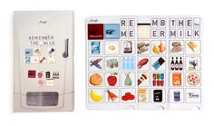 Magneetset / Aimants / Magnets Remember the milk