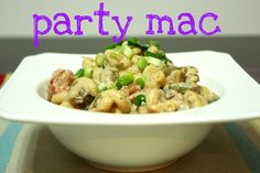 Healthy Party Mac & Cheese | meals & moves - this looks delish and this blog is awesome!