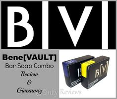 BeneVault Bar Soaps & Candles For Father's Day ~ Review & Giveaway (US & Canada) 6/5