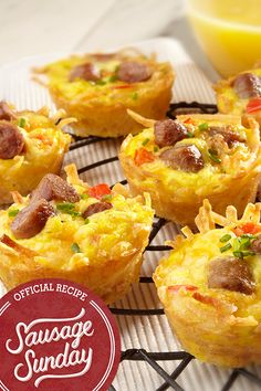 Amazing Muffin Cups We love how easy it is to make these Amazing Muffin Cups! Simple ingredients, simple steps  and a delicious breakfast for the whole family!