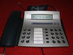 AASTRA Office 35 IP digital ISDN Systemtelefon,geprüft ist100%OK,war Demoartikel