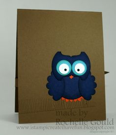 Stampin' Up!  Round Tab Punch Owl