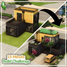 Sims 4 House Design, Sims Building, Sims 4 Build, Sims 4 Houses, Challenge Me, Outdoor Furniture Sets, Outdoor Decor, Tired, Video Games
