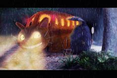 Totoro by dim air, via Behance
