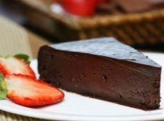 Receita de Torta de Chocolate Amargo - Cyber Cook Receitas - Receita indicada por Restaurante Viena....