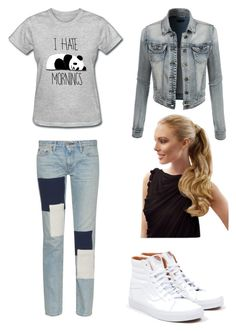 """""""The dark side Tyler Part 4"""" by pretty-blueeyes ❤ liked on Polyvore featuring Simon Miller, LE3NO and Vans"""